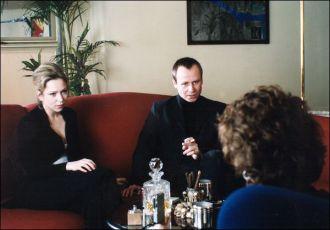 Zuzana Stivínová a Karel Roden