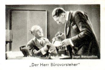 Přednosta kanceláře (1931)