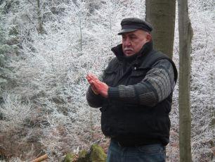 Andrej Hryc si před dalším záběrem musí více zašpinit ruce krví