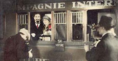 V přepychovém vlaku (1927)