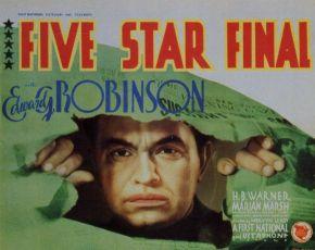 Finále pěti hvězd (1931)