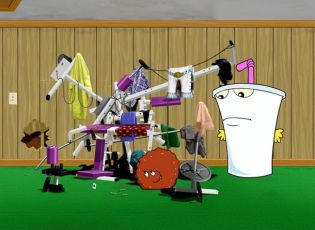 Aqua Teen Hunger Force Colon Movie Film for Theatres (2007)