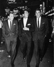 Frank Sinatra, Dean Martin, Peter Lawford