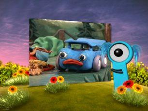 O modrém autíčku (2001) [TV seriál]