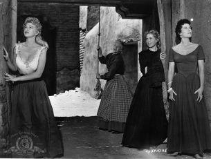 Král a čtyři královny (1956)