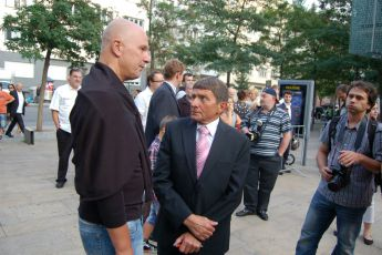 5.9.2012 premiéra filmu Váňa -  Josef Váňa (2) a Ondřej Soukup Josef Váňa (2)