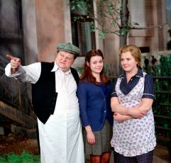 Jan Libíček, Eva Hudečková a Blažena Holišová
