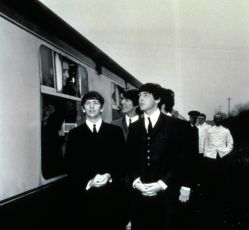 Ringo Starr, George Harrison a Paul McCartney