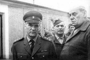 Václav Švorc, Otto Lackovič, Zdeněk Kryzánek