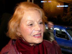 Nina Jiránková na premiéře filmu Pamětnice