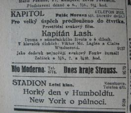Dnes hraje Strauss (1928)