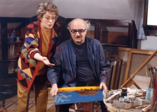 Jiřina Bohdalová a Josef Somr