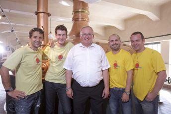 Snídaně s Novou na cestách z plzeňského pivovaru - 28.8.2011