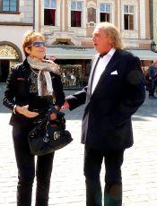 Olga Matušková a Kristián Kodet