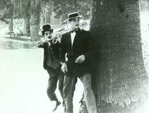 Chaplin sokem v lásce (1914)