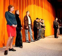 Delegace k filmu Anglické jahody (Česká republika, Slovenská republika, Ukrajina) - 44. MFF Karlovy Vary 2009