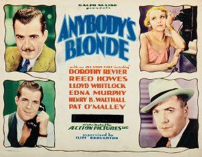 Anybody's Blonde (1931)
