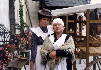 Jitka Sedláčková a Zdena Herfortová