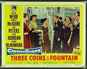 Tři mince ve fontáně (1954)