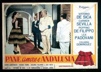 Pan, amor y Andalucía (1958)