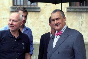 Slavnostní první klapka Petr Nikolaev a Karel Schwrazenberg
