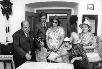 Josef Šebánek, Petr Forman, František Husák, Helena Růžičková, Matěj Forman, Marie Motlová