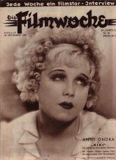 časopis Filmwoche, 28.9.1932