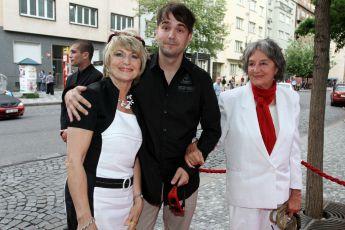 Eliška Balzerová, René Rypar,  Nina Divíšková - slavnostní premiéra filmu