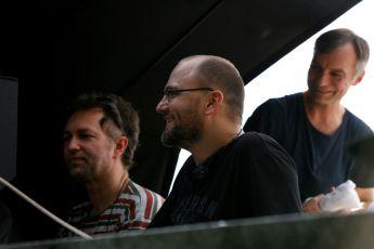 Peter Krištúfek, Ivan Trojan - z natáčení