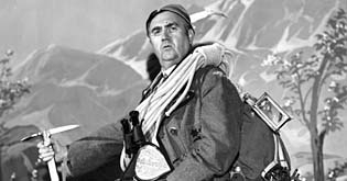 Hříšný alpinista (1942)