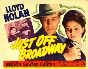 Just Off Broadway (1942)