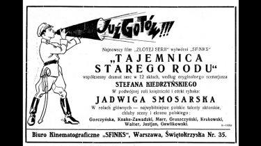Tajemnica starego rodu (1928)