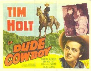 Dude Cowboy (1941)