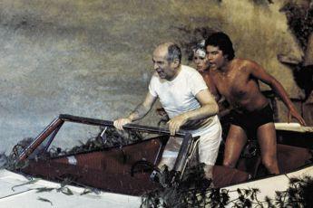 Louis de Funes, Geraldine Chaplin a Olivier de Funés