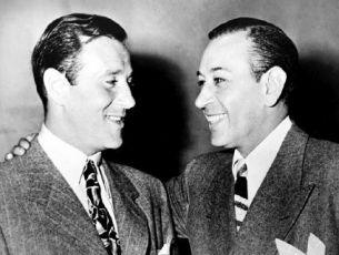 Benjamin Siegel a George Raft