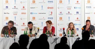 Tisková konference k filmu Bez konce (Chorvatsko, Srbsko) - 44MFF Karlovy Vary