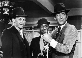 Frank Sinatra,  Sammy Davis Jr. a  Dean Martin