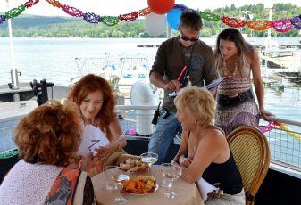 Naďa Konvalinková, Simona Stašová, Miluše Šplechtová a Filip Renč