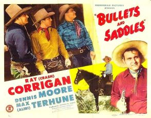 Bullets and Saddles (1943)