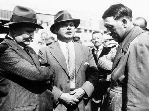 Hermann Göring, Ernst Röhm a Adolf Hitler