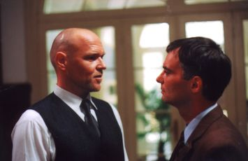 Marek Vašut a Ivan Trojan v epizodě Bouřka