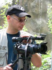 Režisér a kameraman Jiří Bálek