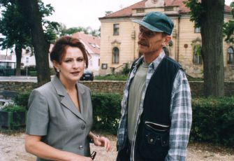 Zlata Adamovská a Jiří Schmitzer