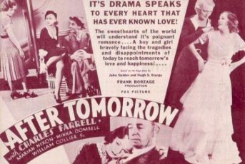 After Tomorrow (1932)