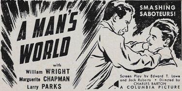 A Man's World (1942)