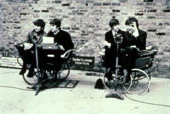 George Harrison, John Lennon, Ringo Starr a Paul McCartney