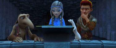 Sněhová královna: Tajemství ohně a ledu (2016)