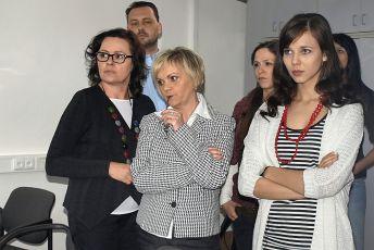 Jitka Sedláčková, Hana Seidlová a Adriana Neubauerová