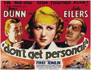 Don't Get Personal (1936)