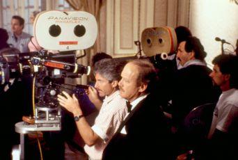 Režisér při natáčení filmu